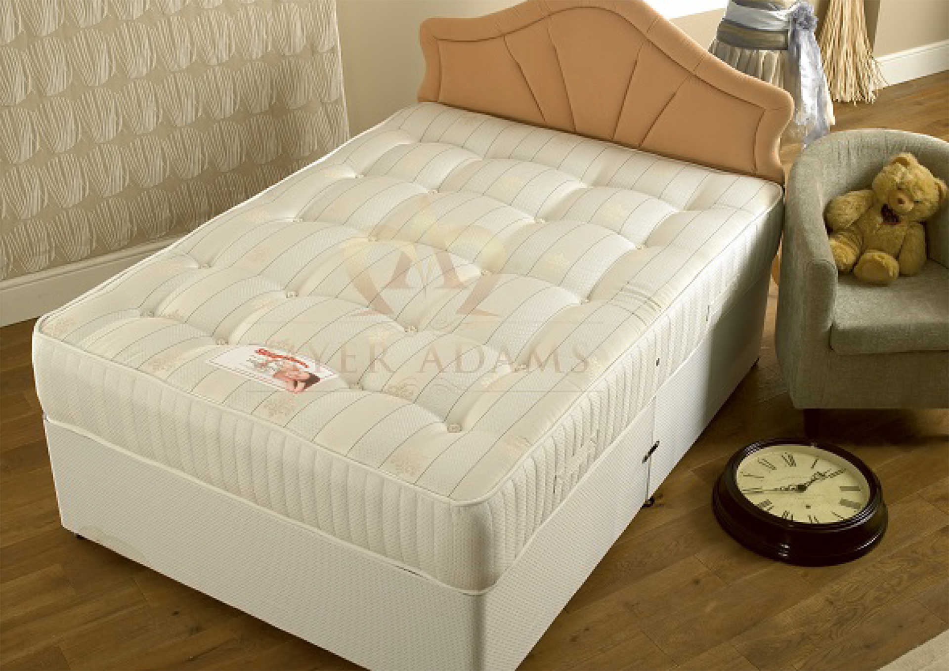 Myer Adams Highlander Orthopaedic Divan Bed From £189