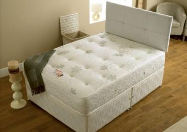 SLEEPTIMES Hilton Orthopaedic Divan Bed from £189