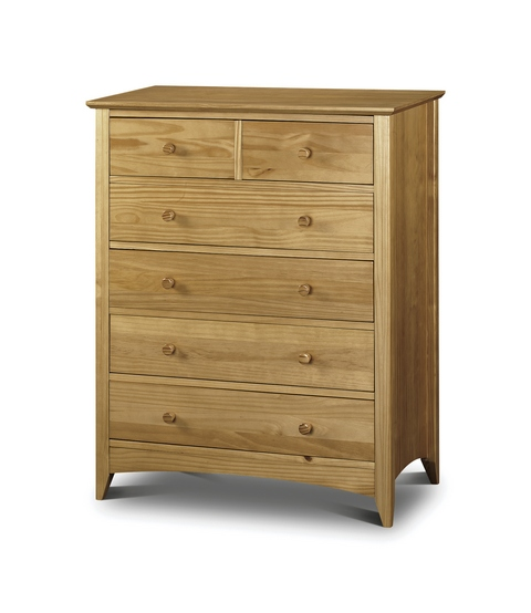 JULIAN BOWEN Kendal Pine 4+2 Drawer Chest