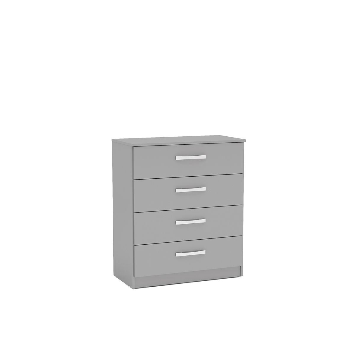 Lynx Grey High Gloss 4 Drawer Chest £124