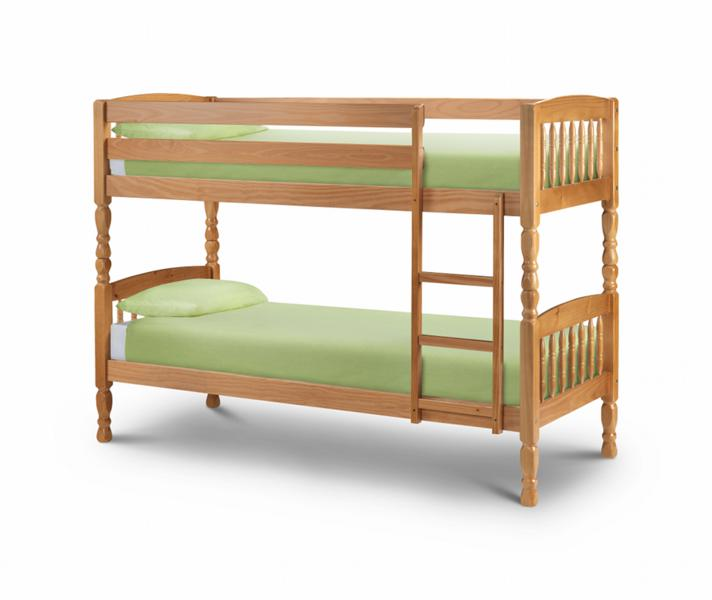 Julian Bowen 2ft6 Small Single Pine Wooden bunk Beds £239