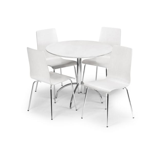 Mandy Dining Table - White