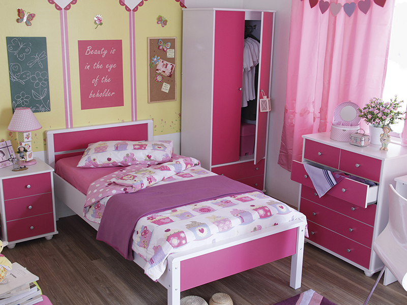 Gfw Miami 5 Piece Children S Bedroom Set Beds Direct Warehouse Gainsborough Lincolnshire