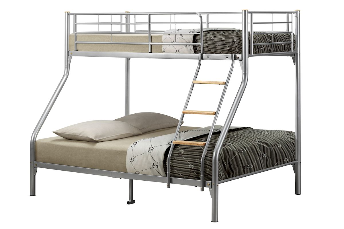 BIRLEA Nexus Silver Triple Sleeper Bunk Bed £209