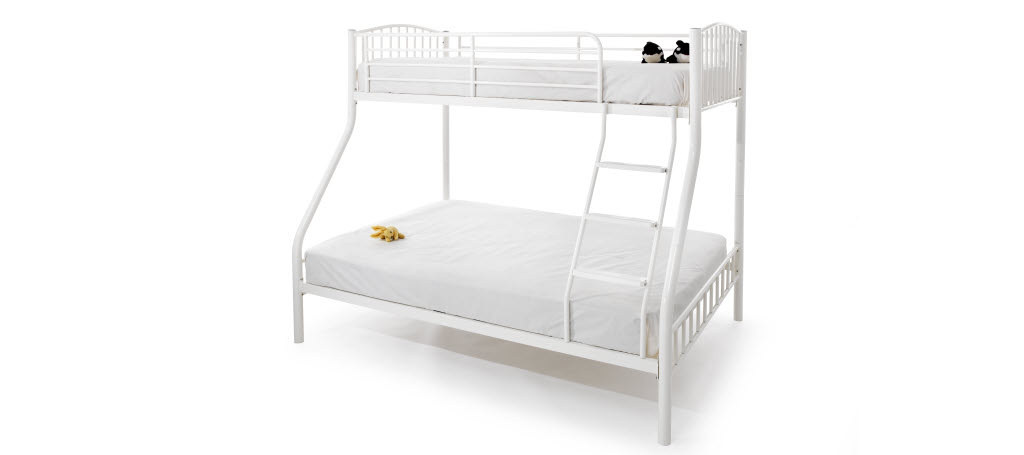 Serene Oslo Triple Sleeper in White £229