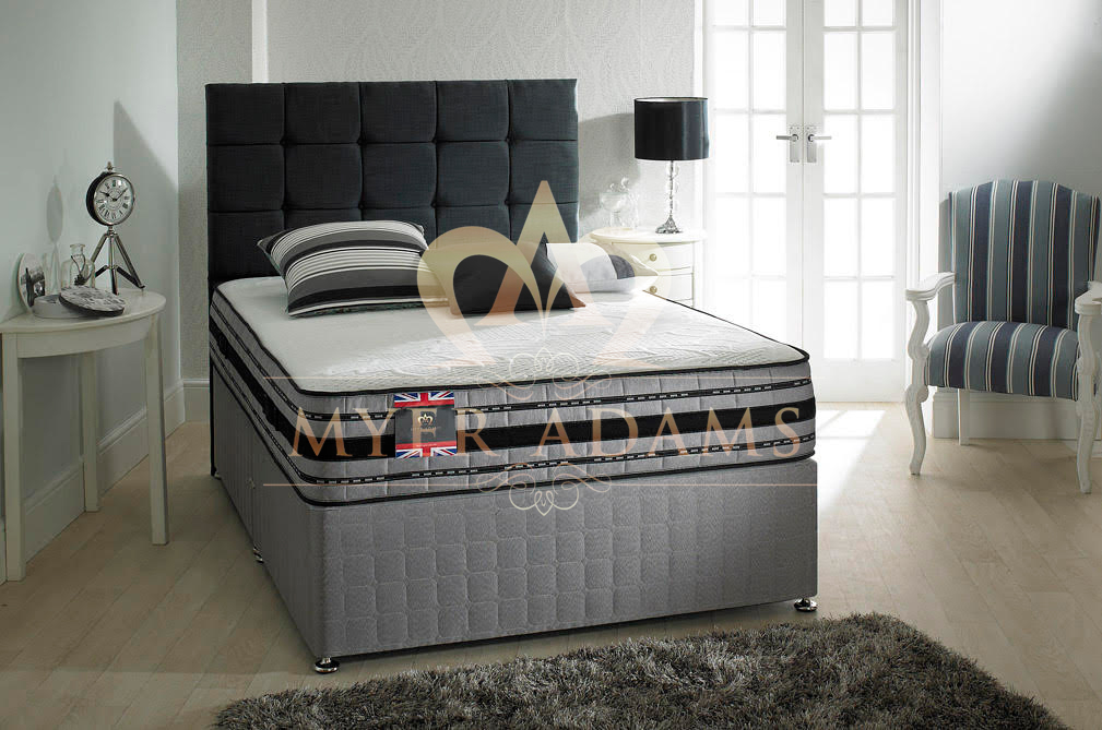Myer Adams Gel Tex 1500 Pocket Sprung Mattress from £329