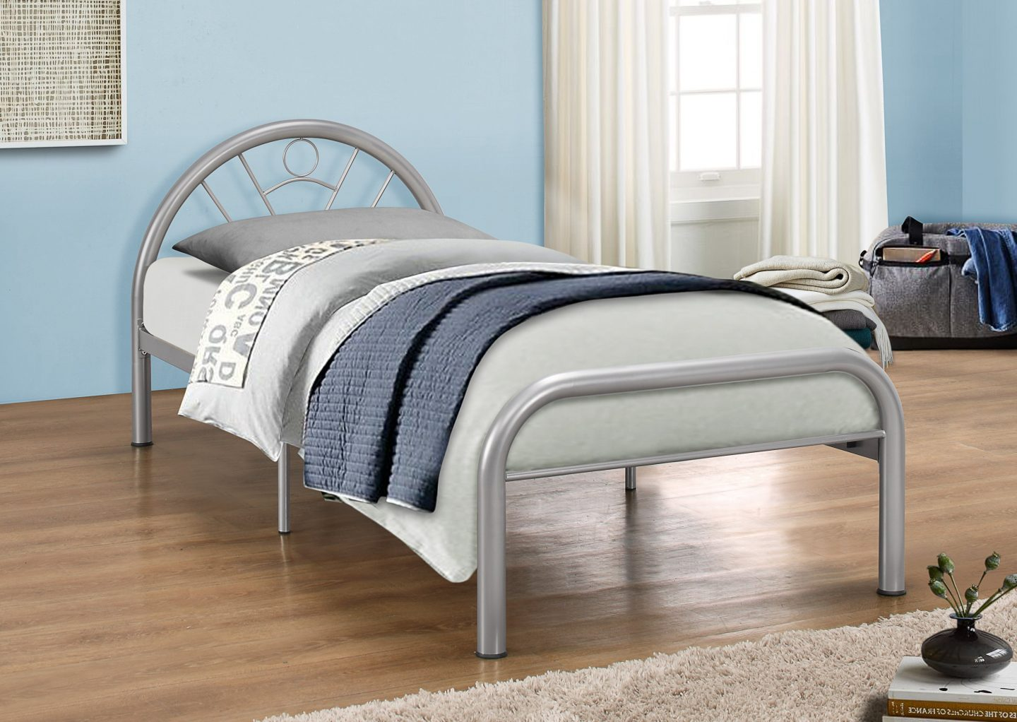 Birlea Solo 3ft Single Metal Bed Frame £69