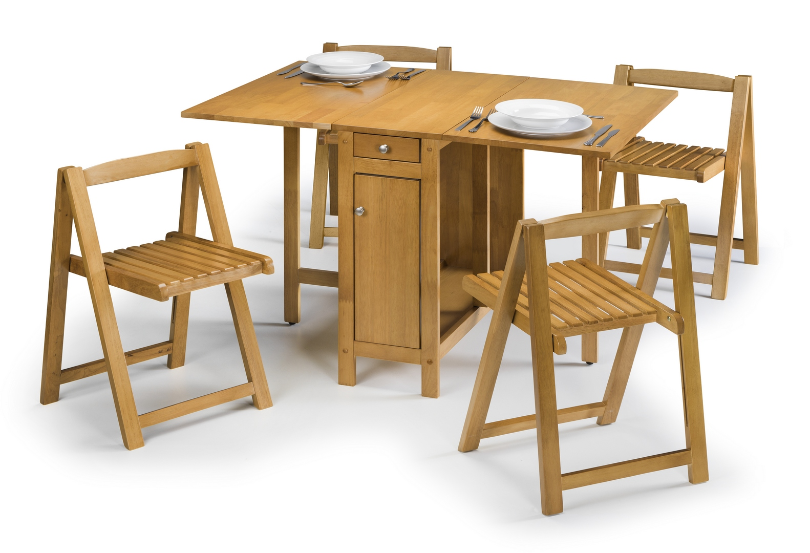 Julian Bowen Savoy Dining Set in Light Oak Finish £189