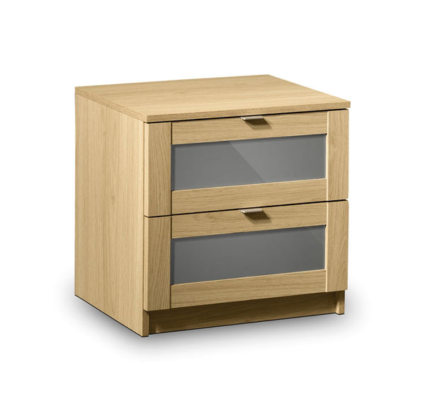 JULIAN BOWEN Strada 2 Drawer Bedside Chest