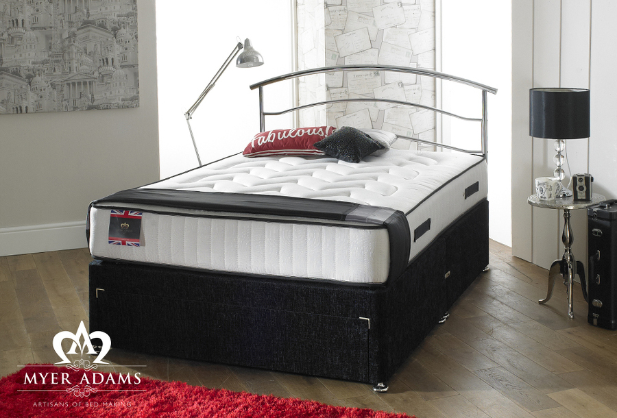 Myer Adams Stress Free Divan Set from £199