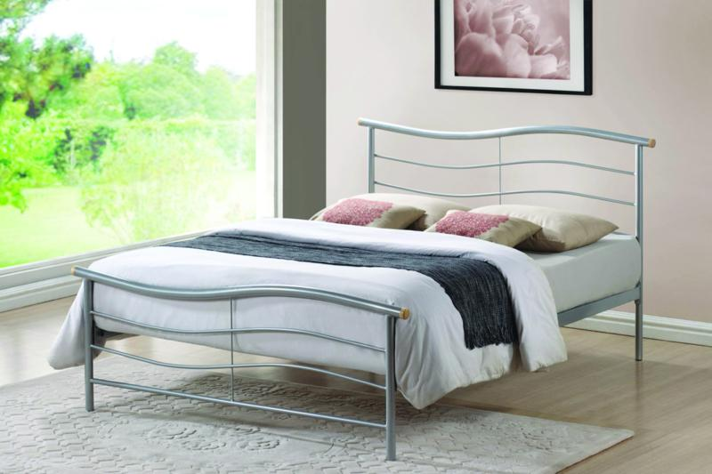 TIME LIVING Waverly Metal Bed Frame FREE DELIVERY