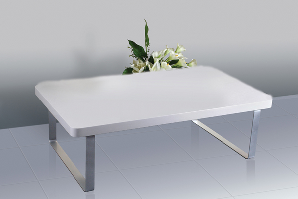 Accent White High Gloss Coffee Table