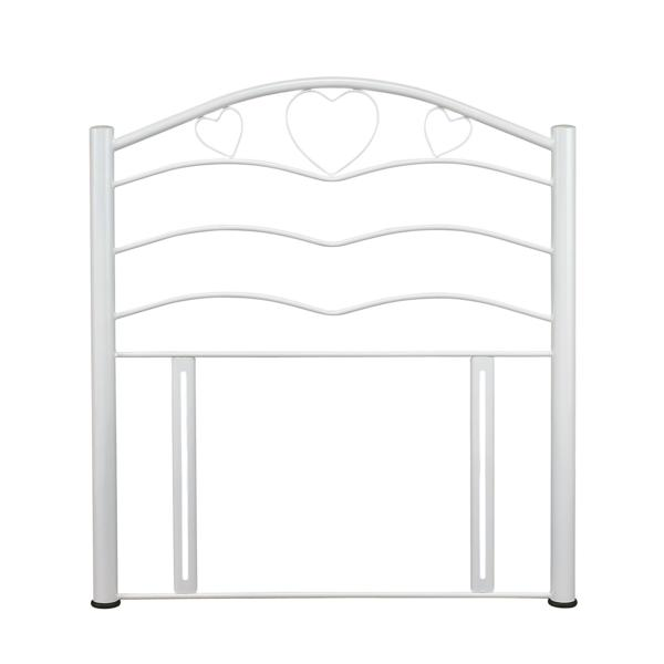 SERENE Yasmin White Metal Headboard