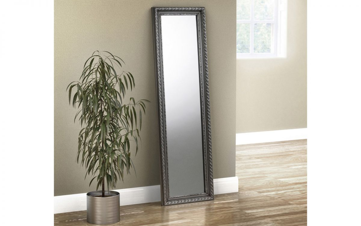 Allegro Pewter Dress Mirror £29