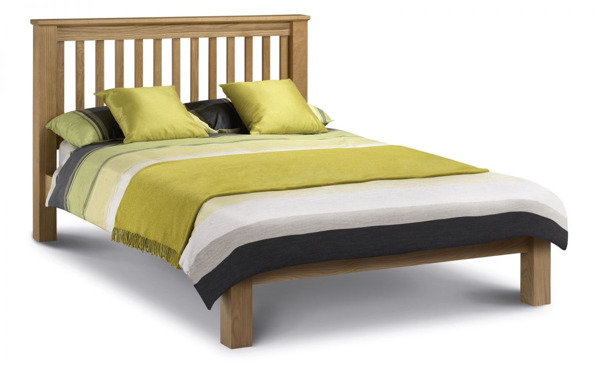 Julian Bowen Amsterdam Low Foot End Oak Bed Frame £379