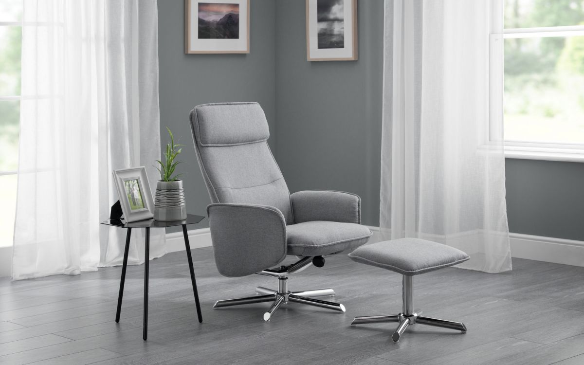 Aria Recliner & Stool £219
