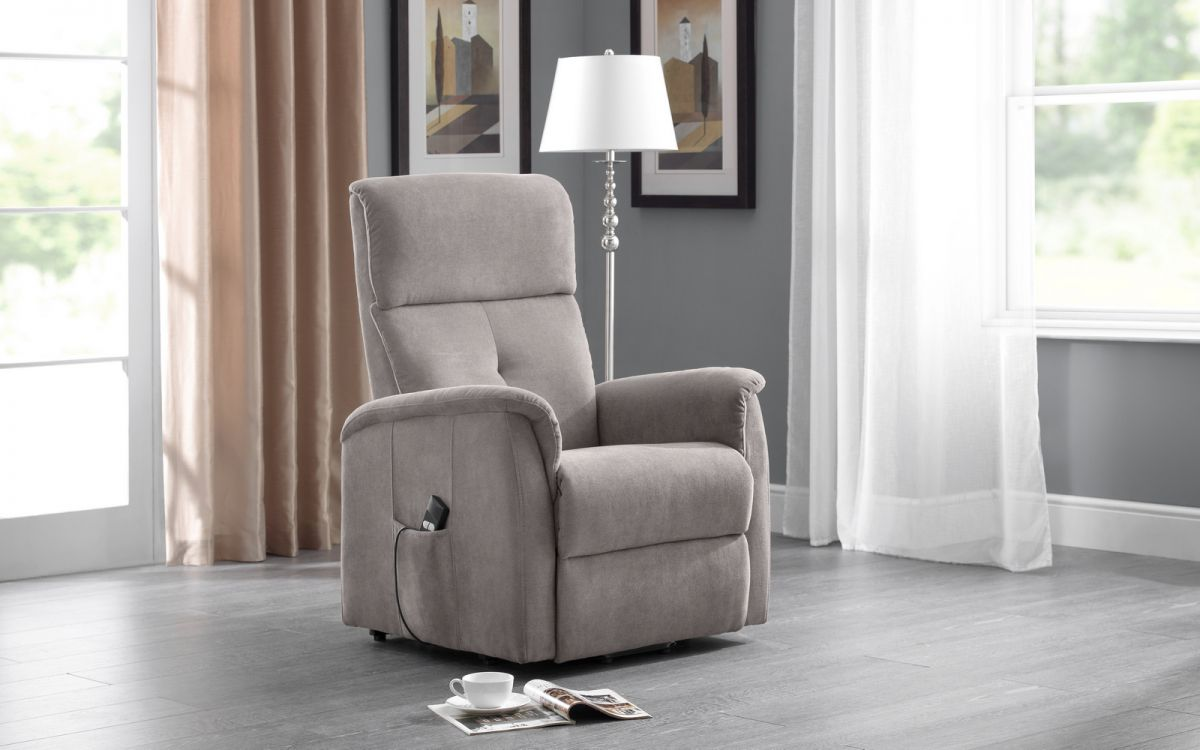 Ava Rise & Recline Chair in Taupe £369