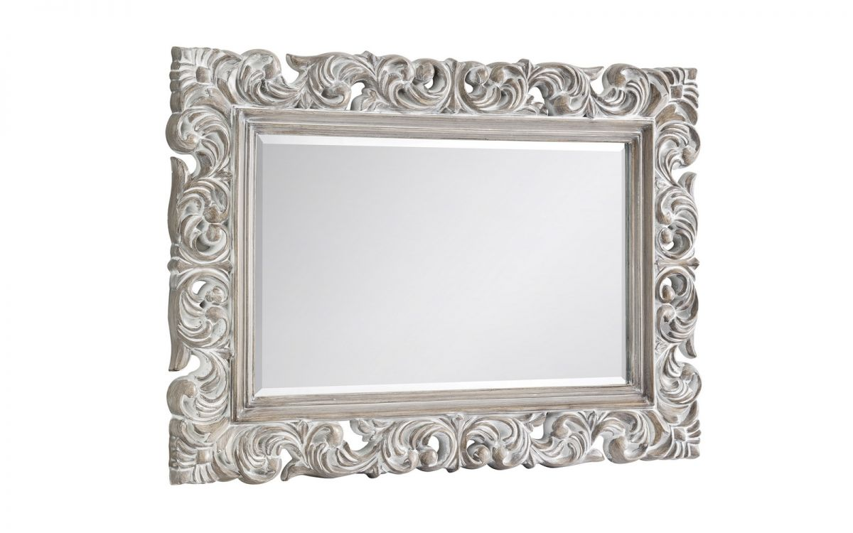 Baroque Distresses Wall Mirror £89