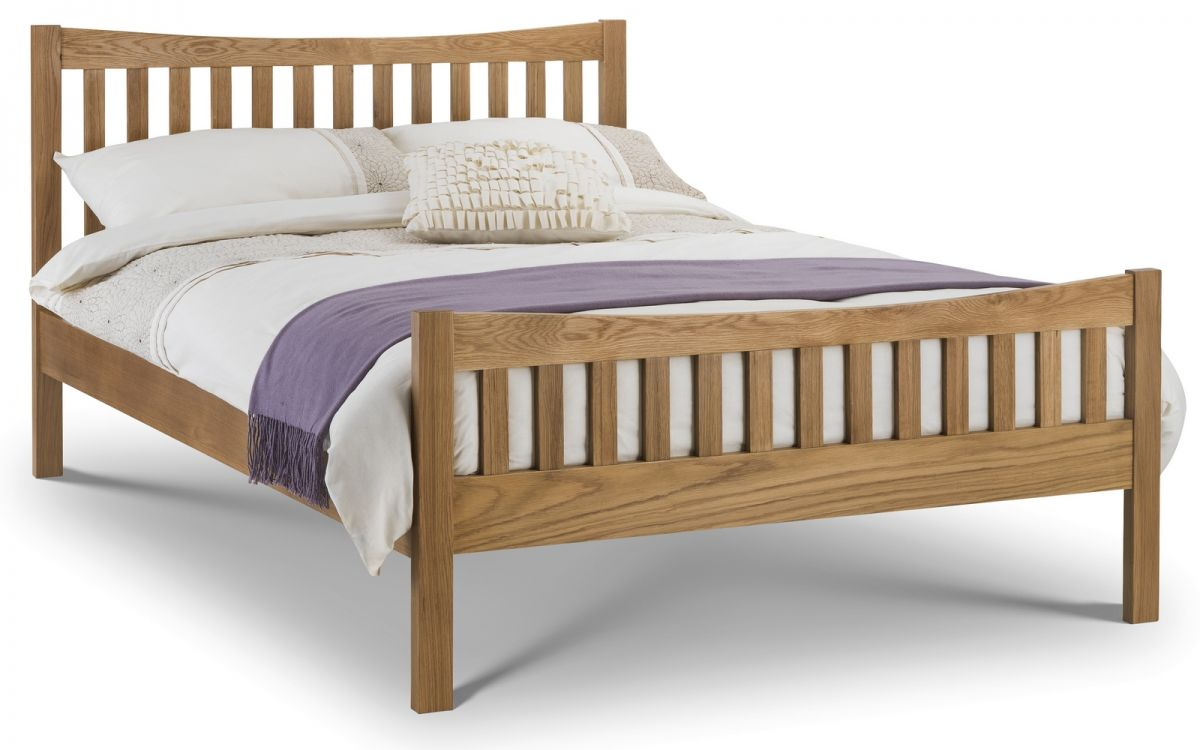 Bergamo Oak Bed Frame by Julian Bowen £299