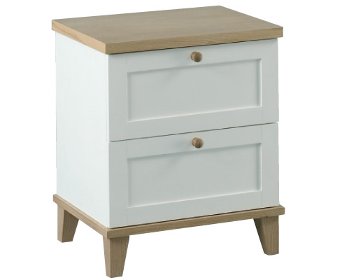 Boston - 2 Drawer Bedside Cabinet