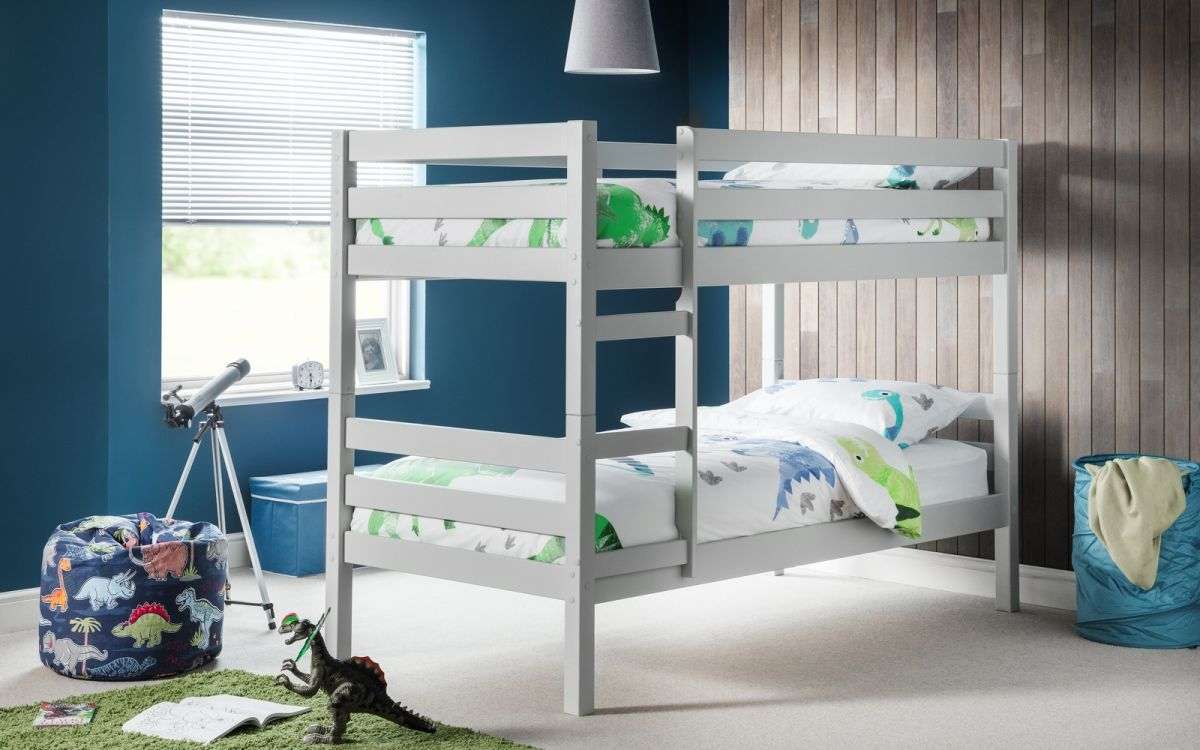 Julian Bowen Camden Bunk Beds in Dove Grey £209
