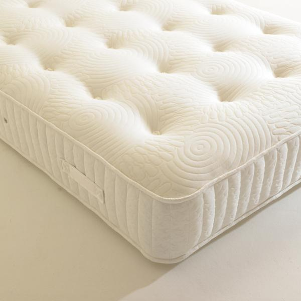 SHIRE BEDS 4ft Small Double Shire Beds EcoDrift Anti Bug Mattress