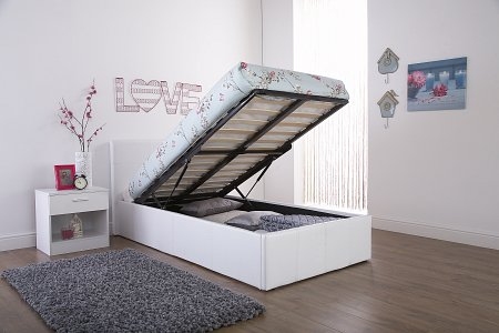 GFW End Lift Ottoman Gas Lift Storage Bedstead from £149