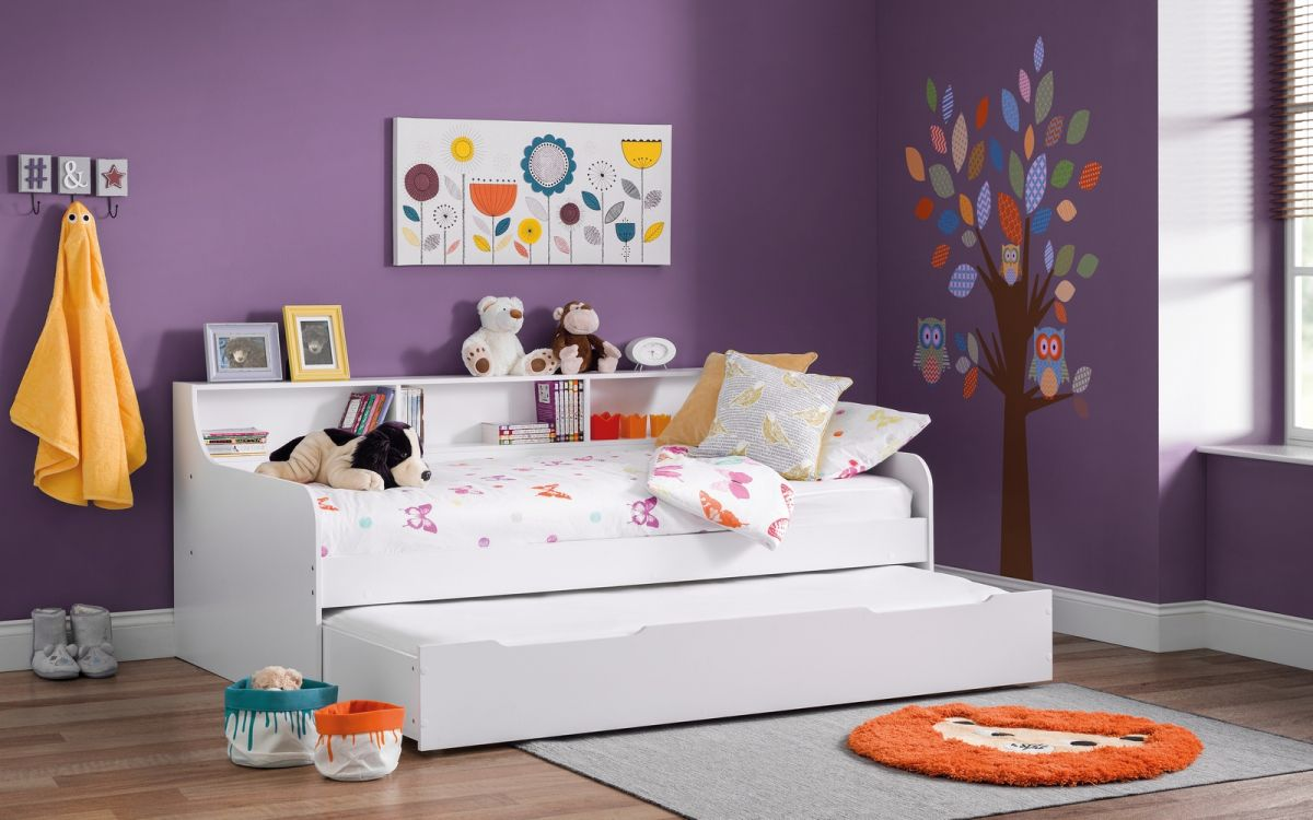 Grace Day Bed in White from £239
