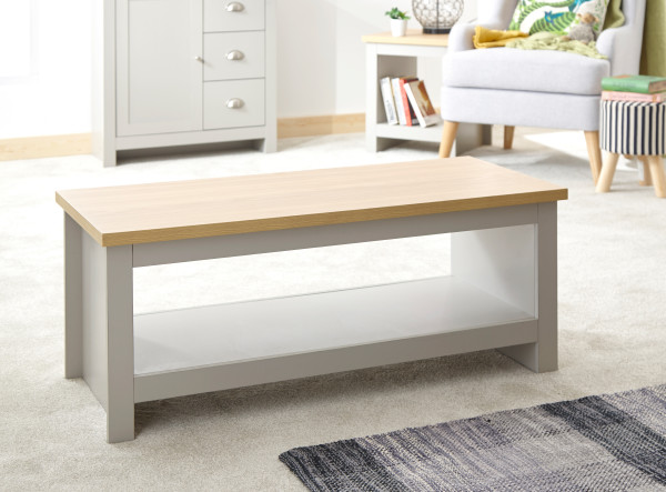 Lancaster Coffee Table with Shelf £69