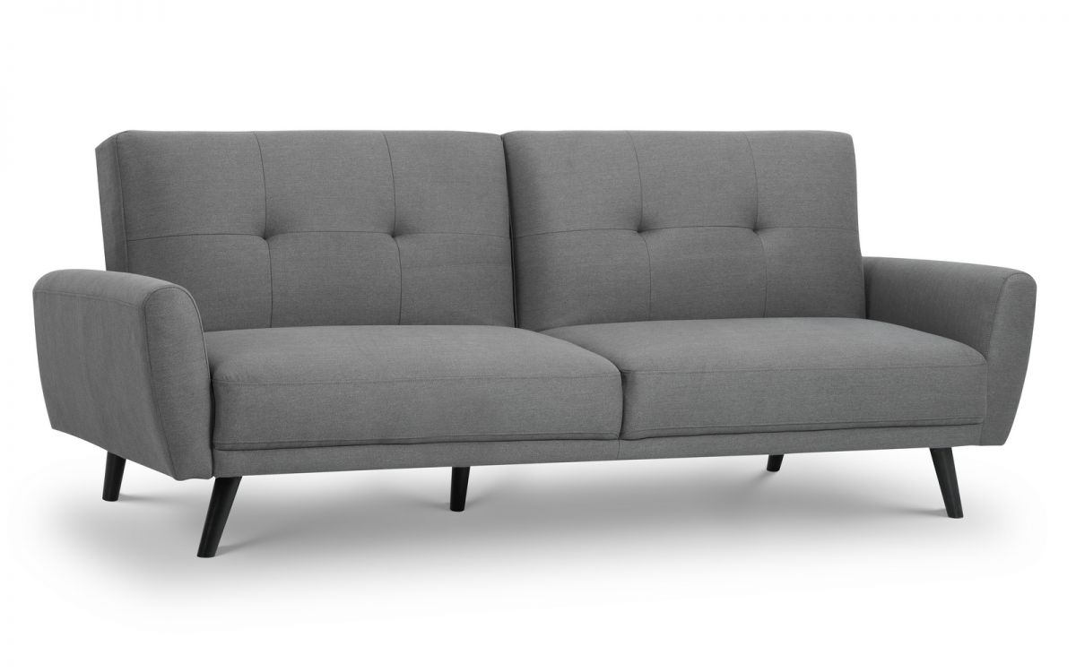 Julian Bowen Monza Sofa Bed in Grey £349