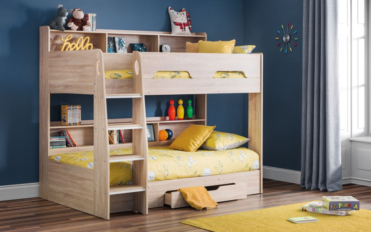 Orion Bunk Bed in Sonoma Oak Finish £369