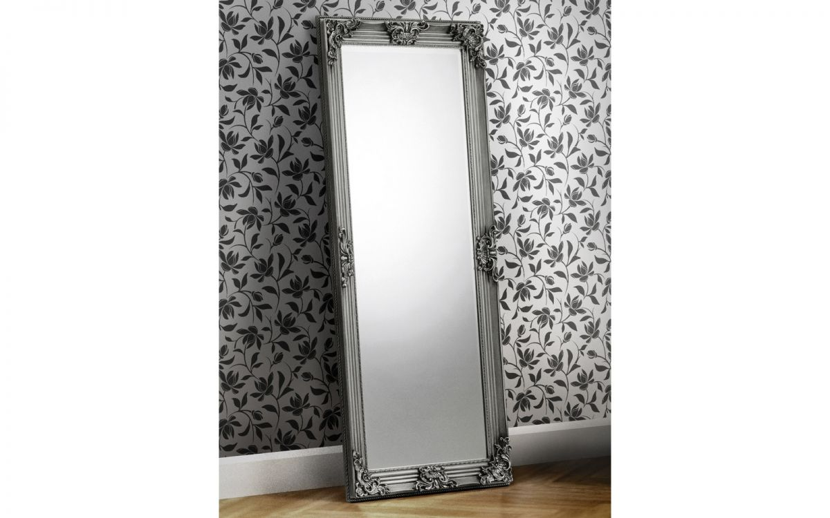 Rococo Pewter Lean-to Dress Mirror £129