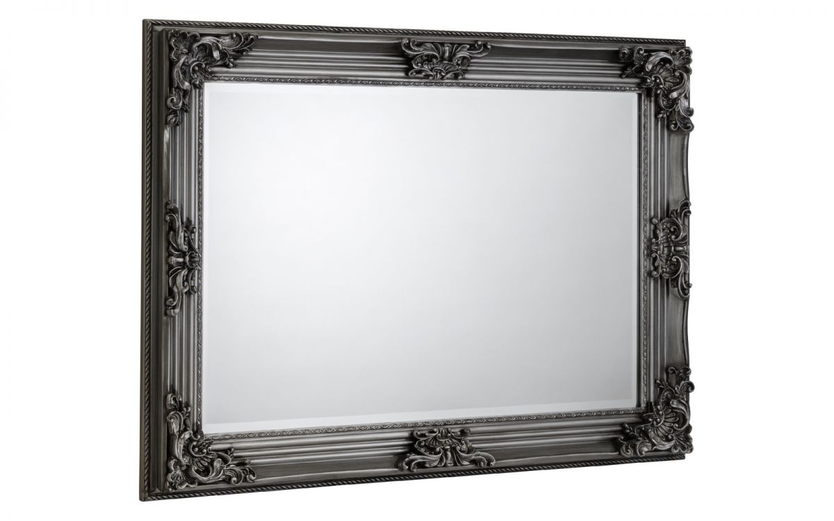Rococo Pewter Wall Mirror £89