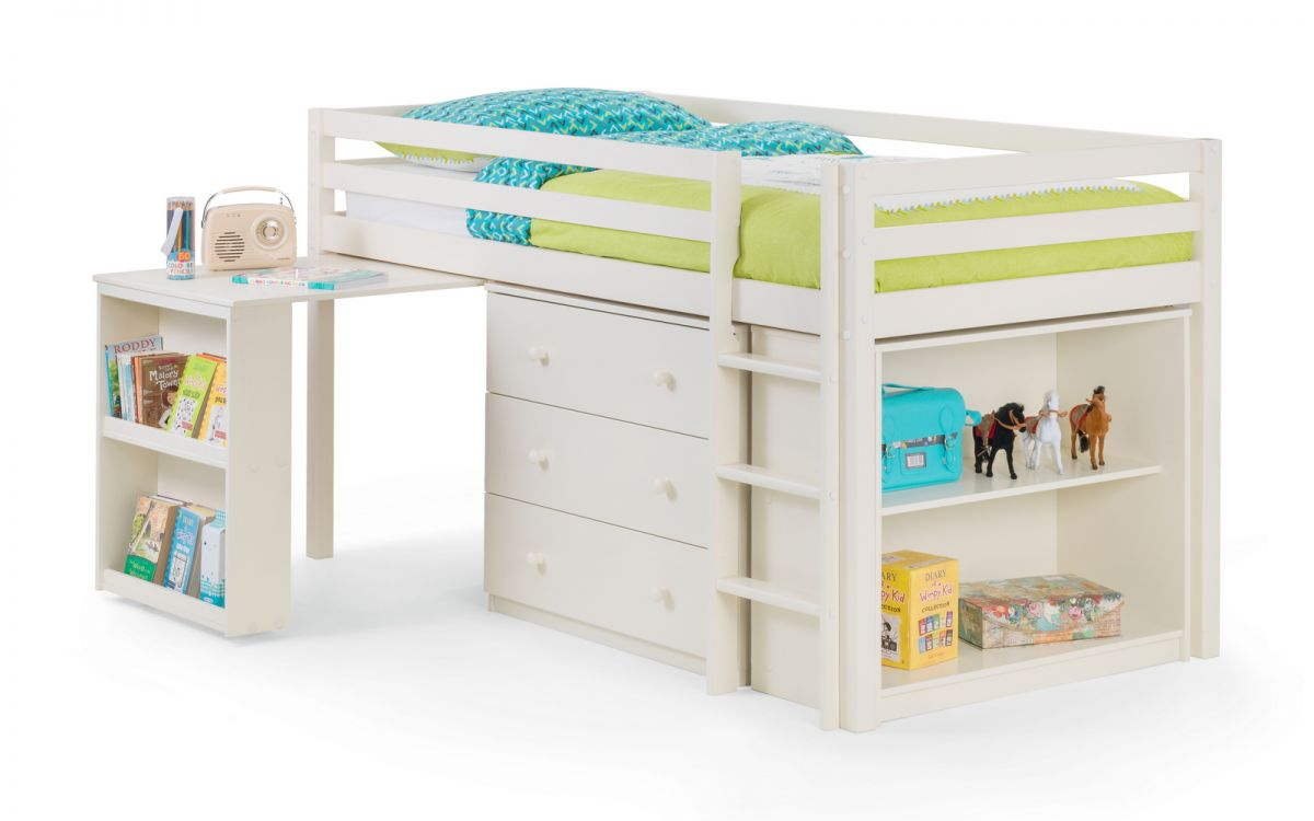 Julian Bowen Roxy Sleepstation in Stone White £389