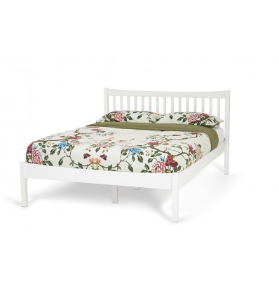 Serene Alice Opal White Wooden Bed Frame £169