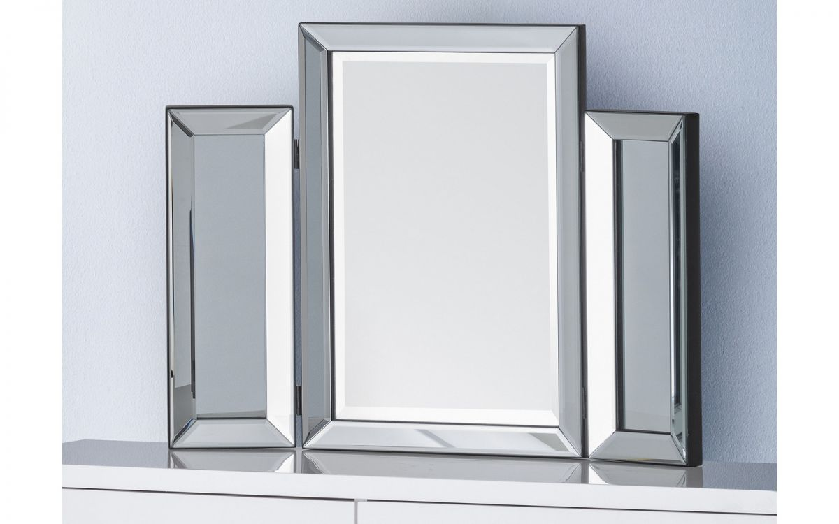 Soprano Folding Dressing Table Mirror £79