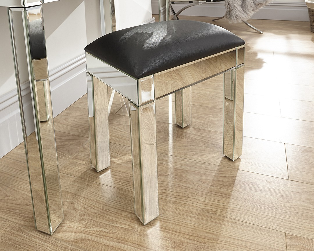 Venetian Mirrored Stool £99