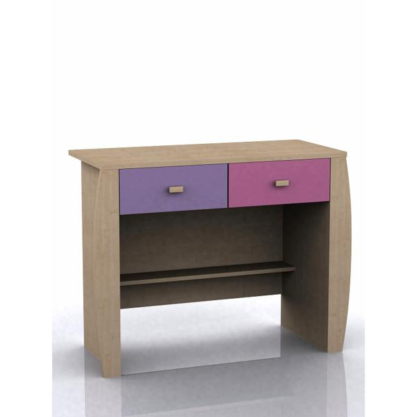GFW SYDNEY Childrens Pink 2 Drawer Desk